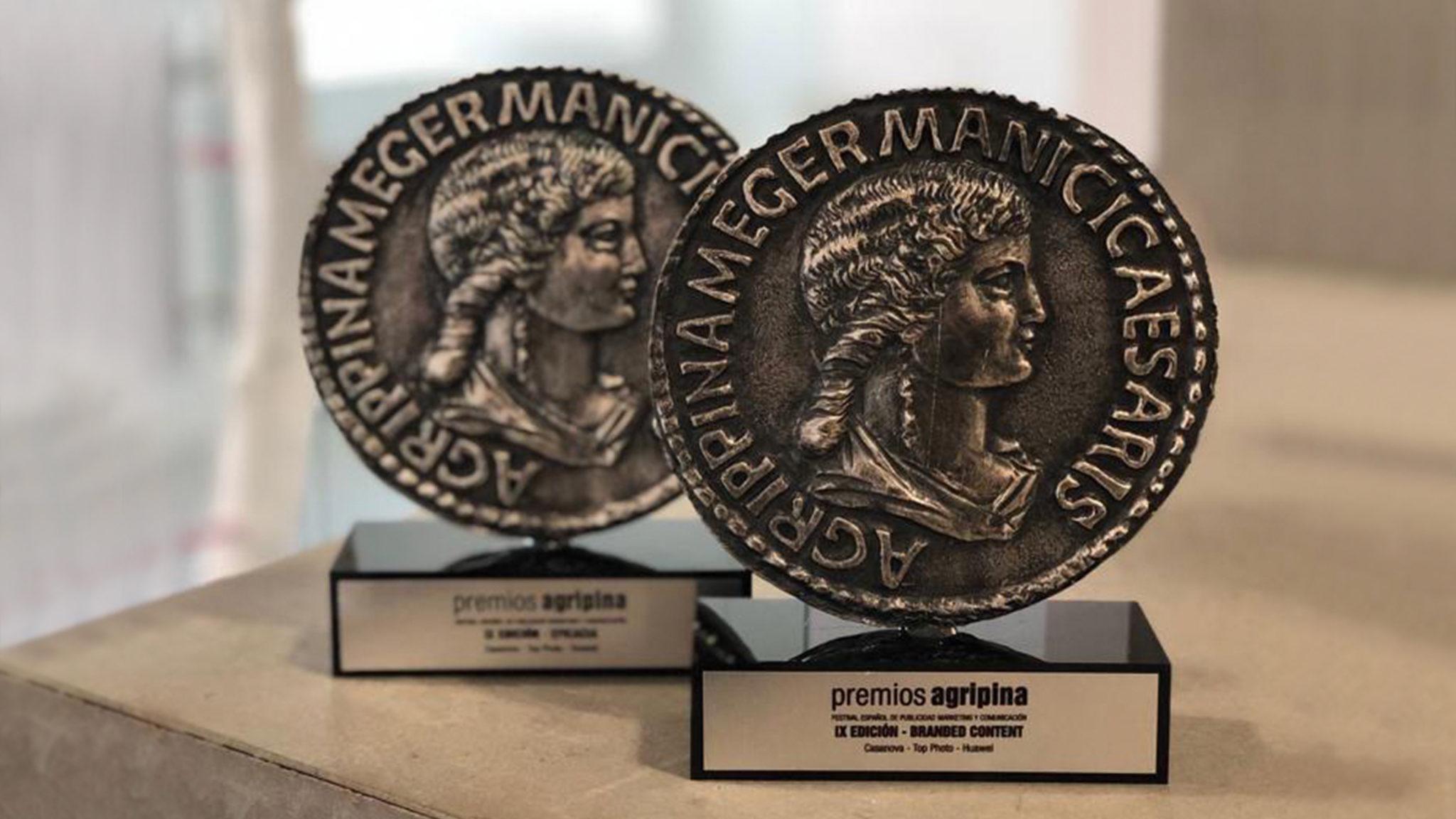 Volvemos de Sevilla con dos Premios Agripina para Top Photo
