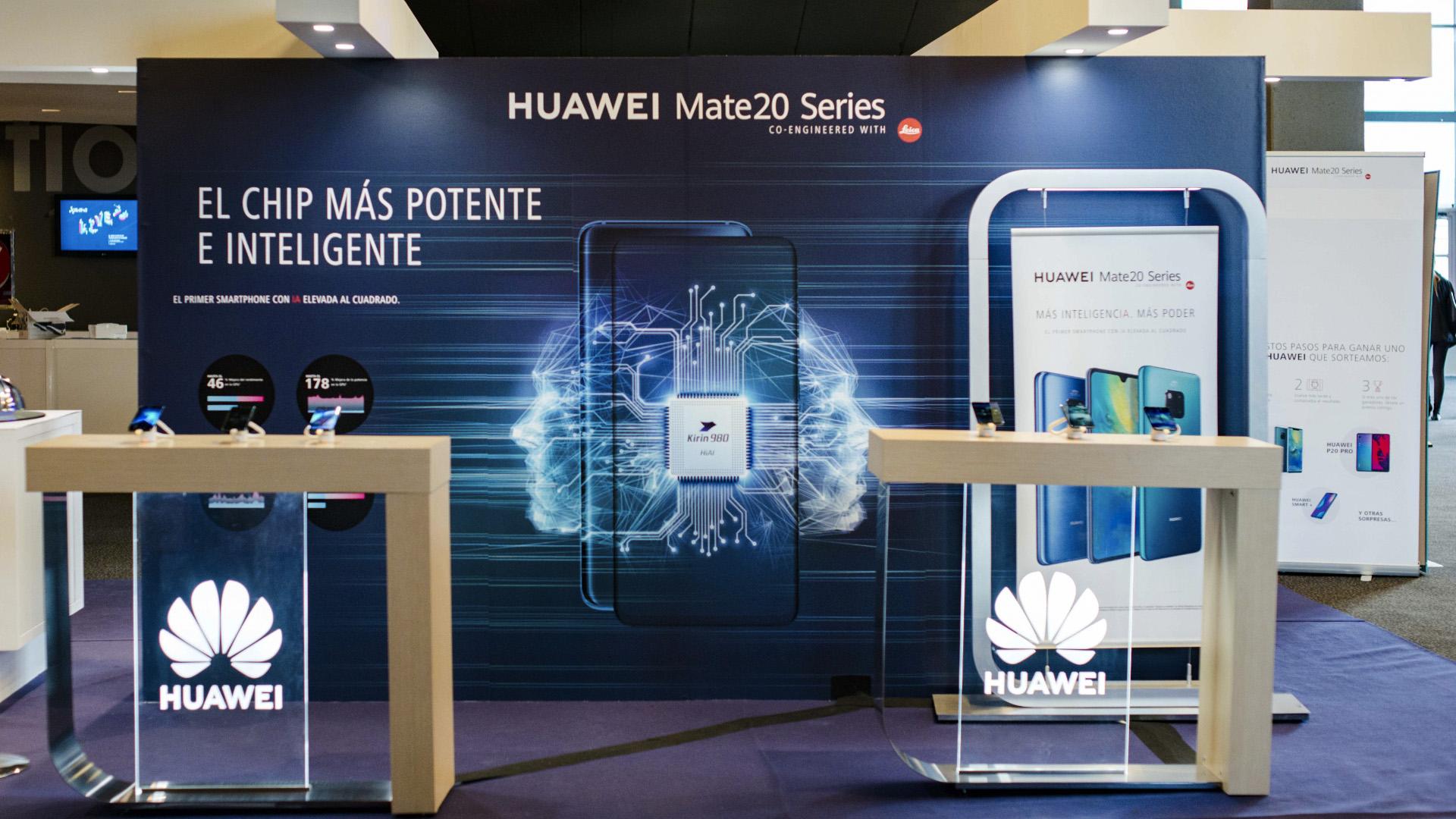 Éxito rotundo de Huawei en su paso por Xataka 2018